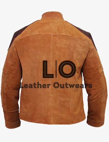 Battlestar-Galactica-Colonial-Warrior-Brown-Suede-Jacket