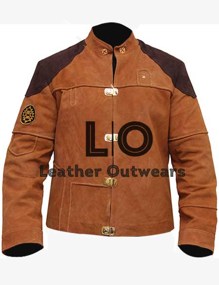 Battlestar-Galactica-Colonial-Warrior-Brown-Suede-Leather-Jacket