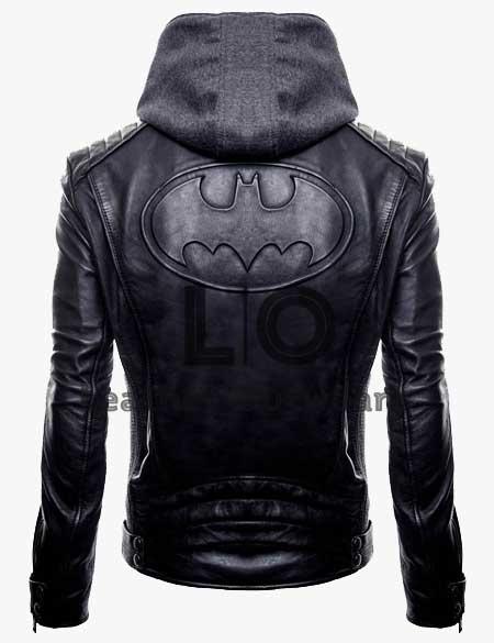 Gotham-Batman-Bruce-Wayne-Black-Leather-Jacket