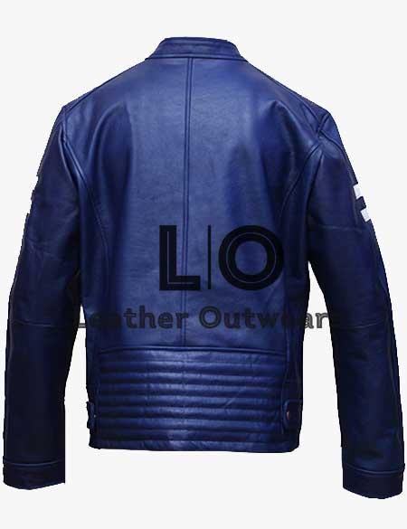 Men-Aviatrix-Slim-White-Stripes-Blue-Leather-Jacket