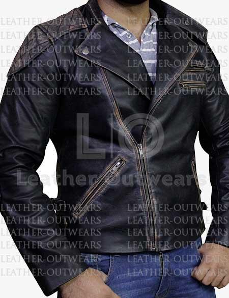 Skull-Embossed-Black-Leather-Jacket