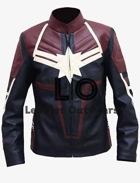 Captain-Marvel-Carol-Danvers-Leather-Jacket