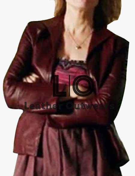 Justified-Ava-Crowder-Maroon-Blazer