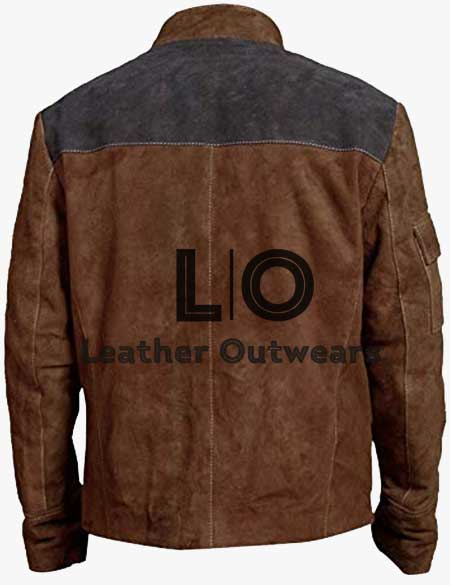 Star-Wars-Story-Han-Solo-Brown-Suede-Jacket