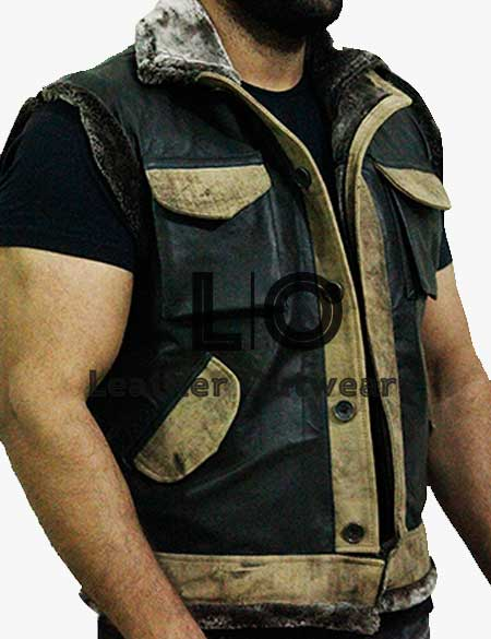 Jumanji-The-Next-Level-Smolder-Bravestone-Leather-Vest