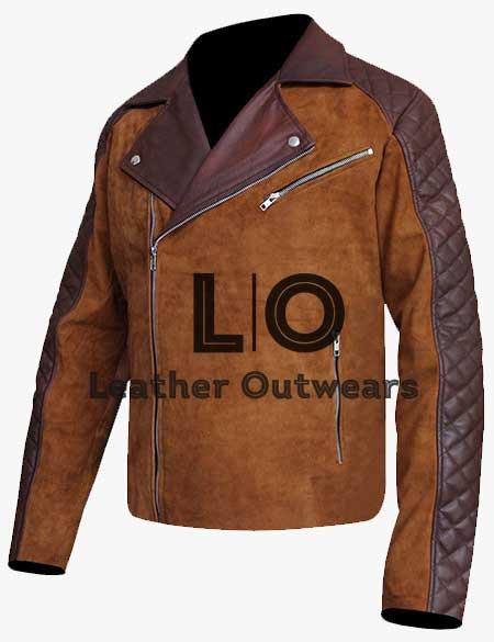 Men-Cafe-Racer-Brown-Leather-Jacket