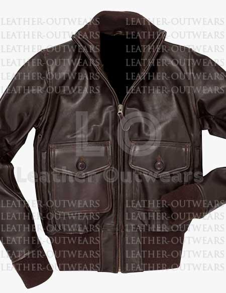 Amelia-Hilary-Swank-Leather-Jacket