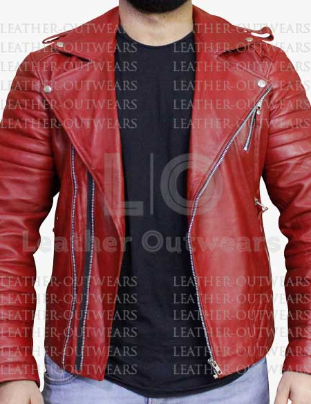 Cherry-Red-Quilted-Motorcycle-Biker-Leather-Jacket