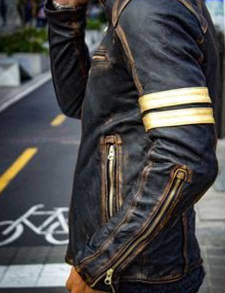 Vintage-Cafe-Racer-Golden-Stripes-Leather-Jacket