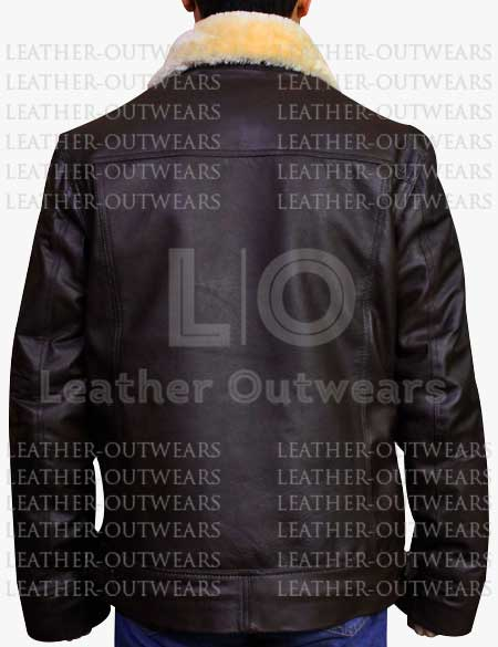 Men-Aviator-B3-RAF-Genuine-Sheepskin-Bomber-Cockpit-Jacket