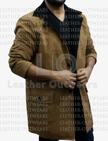 Jingle-All-The-Way-Howard-Langston-Leather-Coat