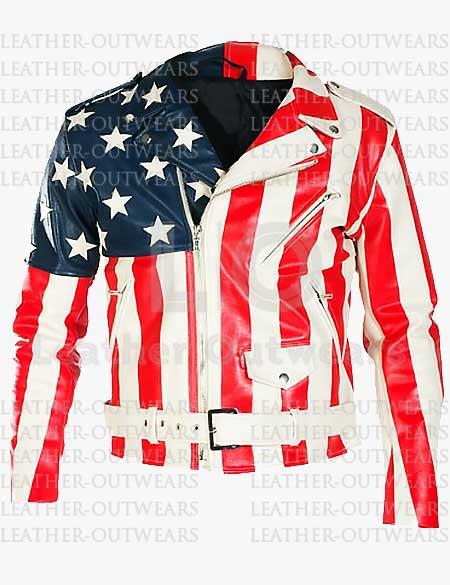 Meek-Mill-American-Flag-Leather-Jacket