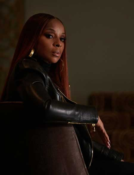Power-Book-II-Ghost-Mary-Blige-Black-Leather-Jacket