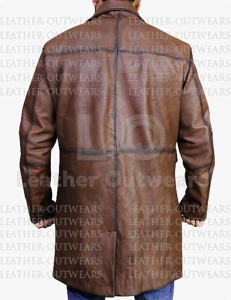Red-Notice-Dwayne-Johnson-Brown-Distressed-Coat