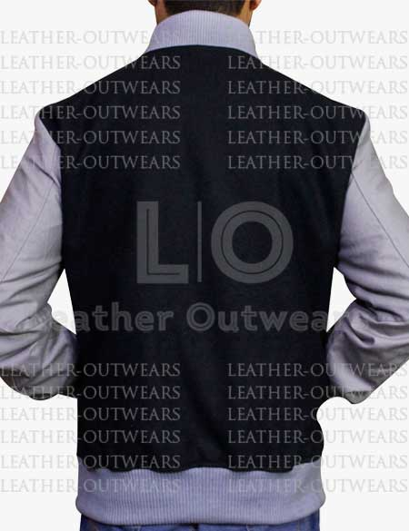 Unisex-Black-and-Grey-Baseball-Leather-Jacket