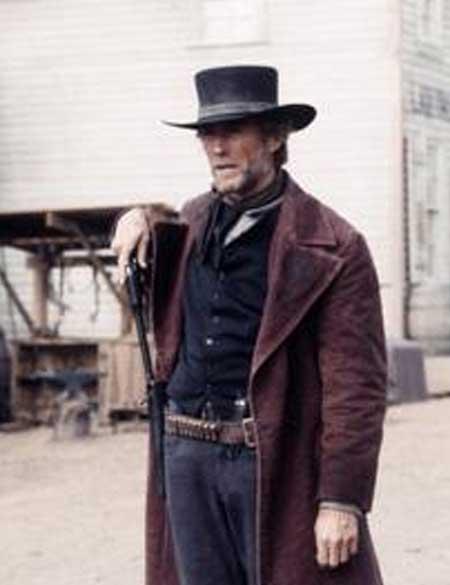 Pale Rider Clint Eastwood Preacher Coat