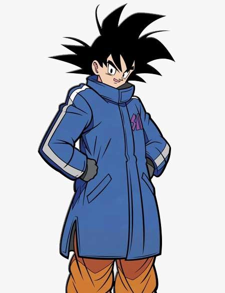 Goku Blue Coat Jacket