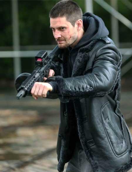 The-Punisher-Ben-Barnes-Jigsaw-Shearling-Jacket