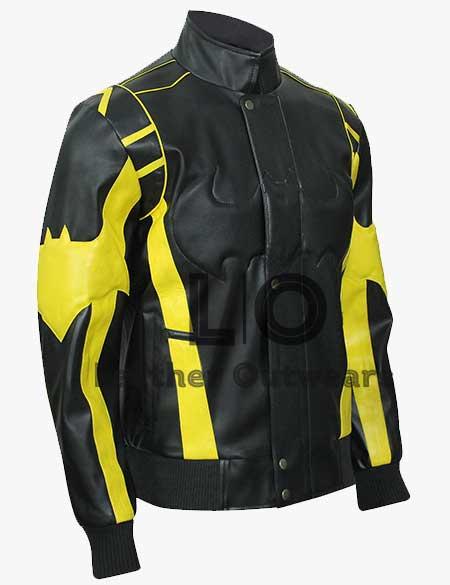 Black-Yellow-Biker-Leather-Padded-Batman-X-Men's-Motorcycle-Faux-Leather-Jackets