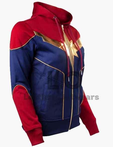 Captain-Marvel-Carol-Danvers-Hoodies
