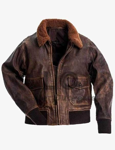 G-1-Leather-Bomber-Brown-Leather-Jacket
