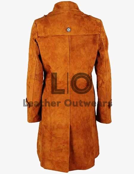 Lucifer Lauren-German-Suede-Brown-Coat