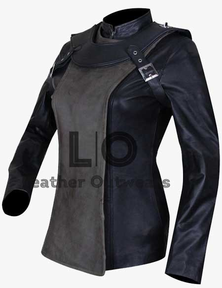 Sky-Captain-and-the-World-of-Tomorrow-Franky-Cook-Grey-Leather-Vest