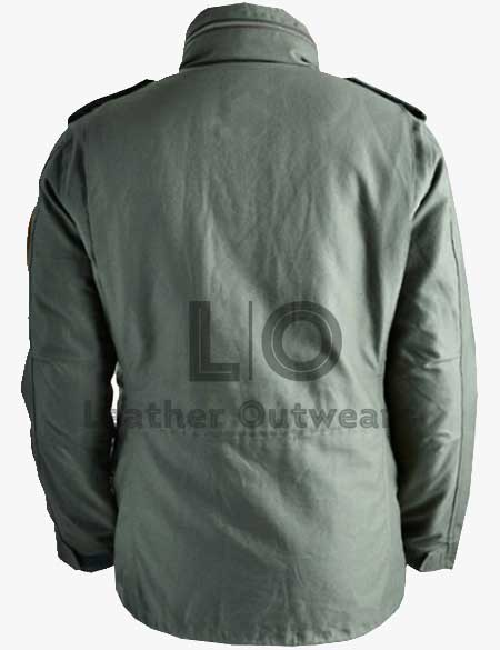 TAXI-DRIVER- TRAVIS BICKLE-GREEN-JACKET