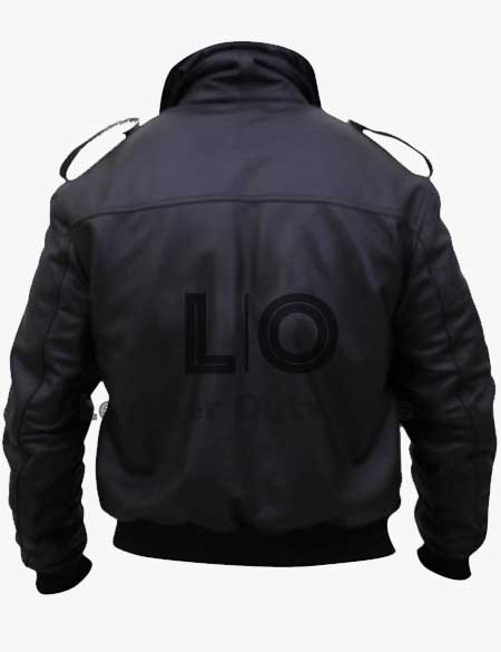 The-Thing-Kurt-Russell-Black-Leather-Jacket