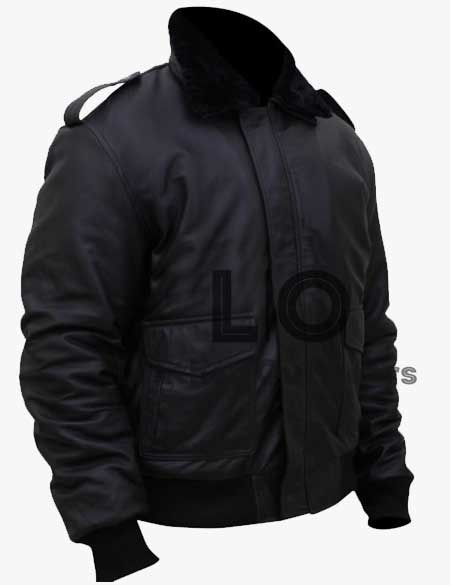 The-Thing-Kurt-Russell-Bomber-Leather-Jacket